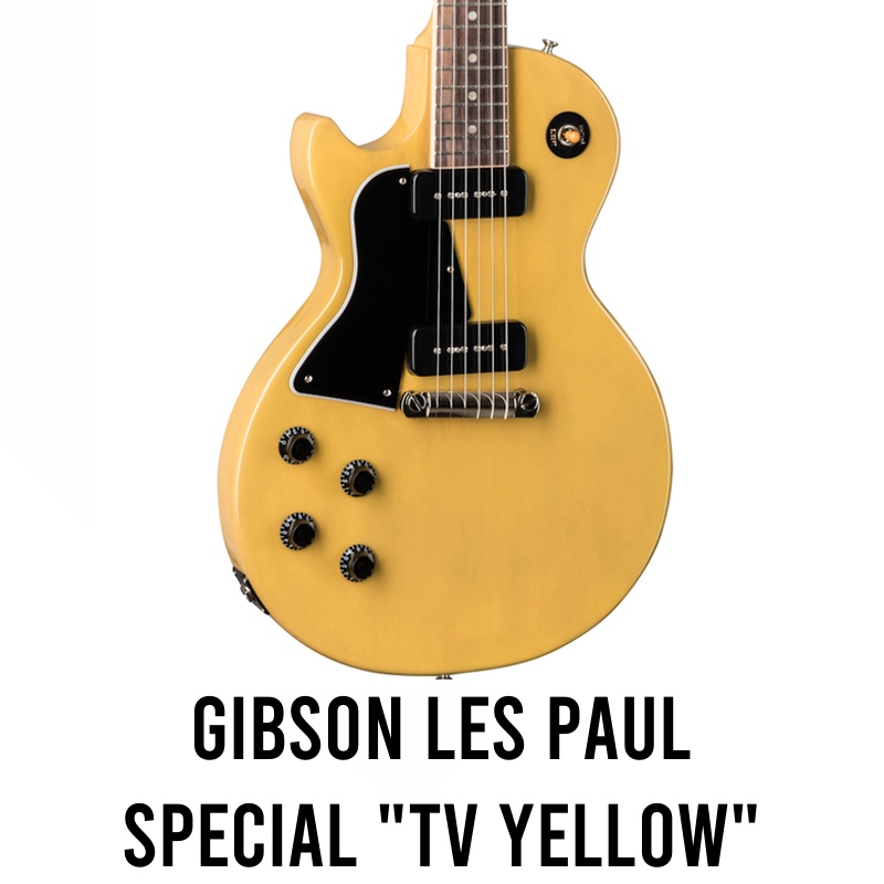 Gibson Les Paul Special P90 TV Yellow Electric Guitar Review